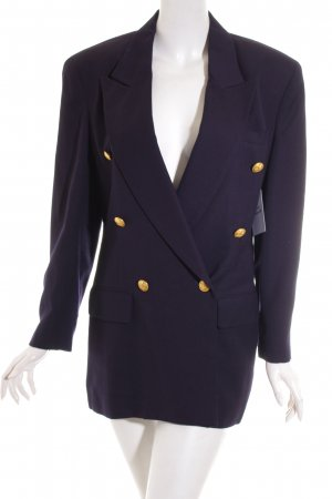 Anne Klein Boyfriend Blazer dark blue-gold-colored navy look