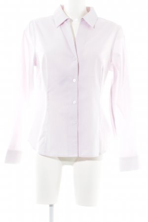 Anne Klein Shirt Blouse pink-white striped pattern business style