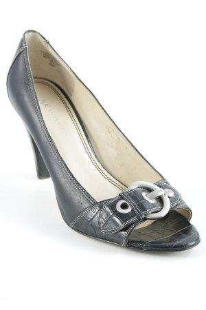 Anne Klein High Heels schwarz-silberfarben Elegant