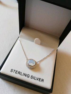 Anne Klein Silver Chain multicolored real silver