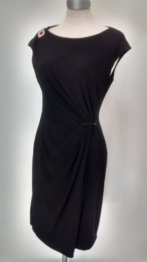 Anne Klein Falda estilo lápiz negro