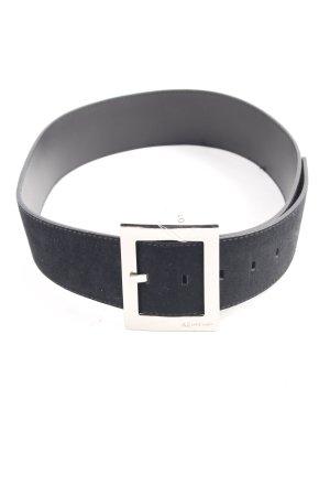 Anne Klein Cintura di pelle nero stile casual