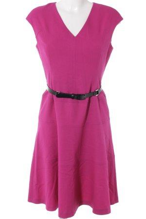 Anne Klein Mini vestido violeta elegante