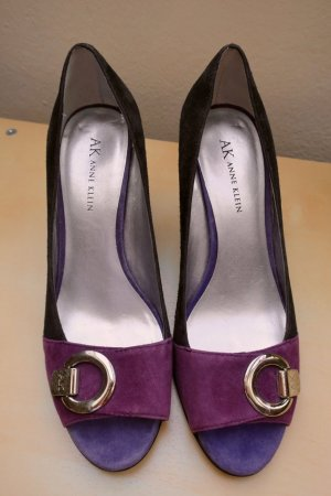 ANNE KLEIN Peeptoe/Wedge, Gr. 39