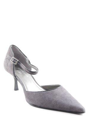 Anne Klein Zapatos de punta gris estilo «business»