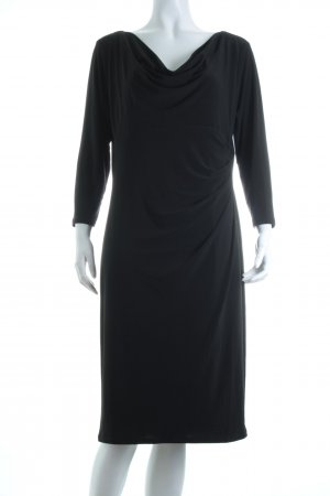 Anne Klein Stretchkleid schwarz Eleganz-Look