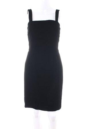 Anne Klein Pinafore dress black business style