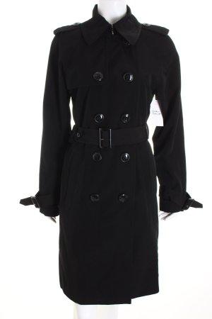 Anne Klein Trenchcoat schwarz Eleganz-Look