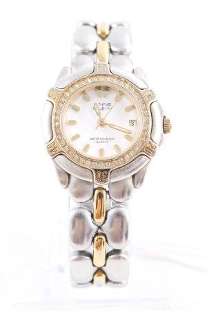 Anne Klein Reloj con pulsera metálica color plata-color oro look casual