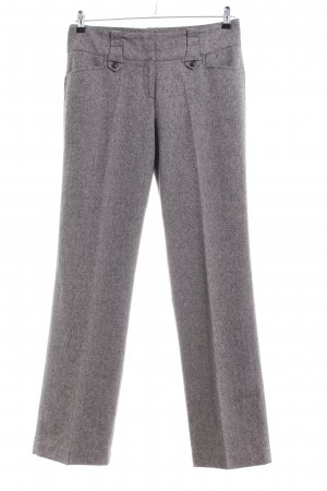Anne L. Suit Trouser light grey flecked business style