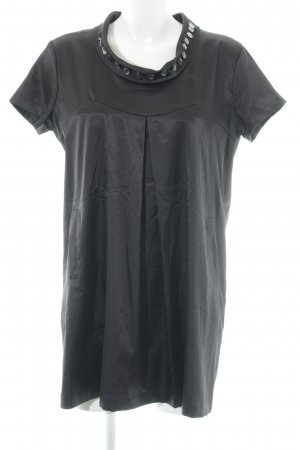 Anne L. Short Sleeved Blouse black elegant