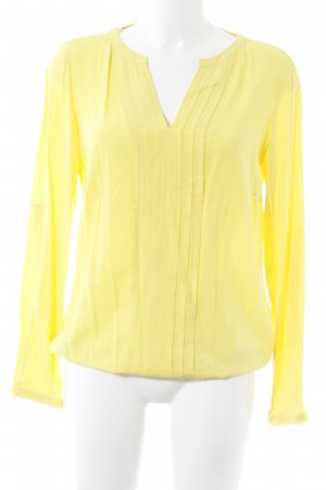 Anne L. Slip-over blouse geel casual uitstraling