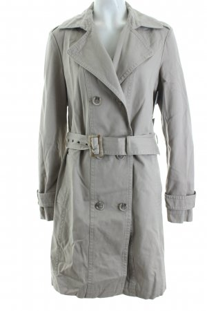 Anne L. Trenchcoat beige clair style classique