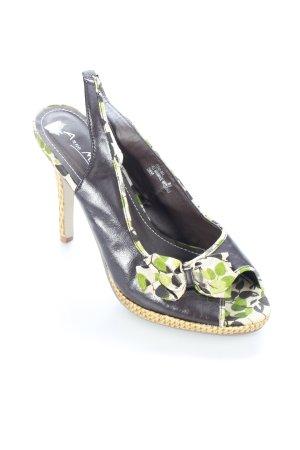 Anne Michelle Sandalen florales Muster Romantik-Look