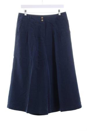 Anne Weyburn Culottes dunkelblau Casual-Look