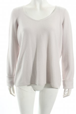 Anneclaire Cashmerepullover creme Casual-Look