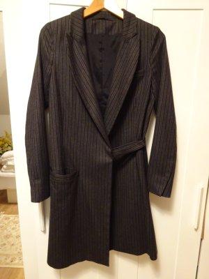 Annette Görtz Oversized Coat light grey-white wool