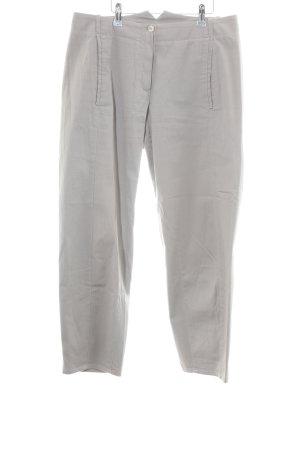 Annette Görtz Pantalon 3/4 gris clair style décontracté