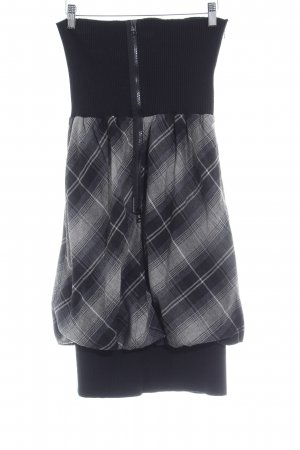 Annette Görtz Balloon Skirt glen check pattern casual look