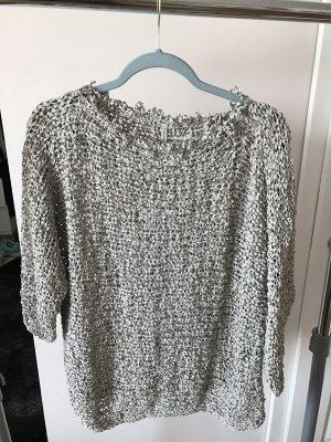 Anette Görtz Camisa recortada gris claro