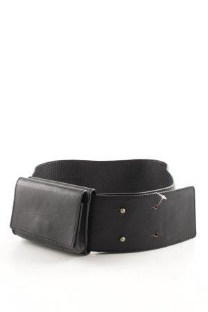 Annette Görtz Cintura di pelle nero stile casual