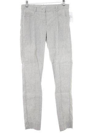 Annette Görtz Pantalone jersey grigio chiaro-grigio motivo a righe stile casual