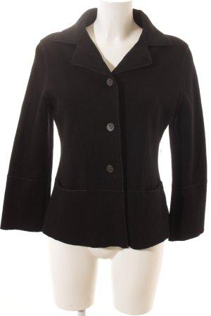 Annette Görtz Blazer de lana negro estilo clásico