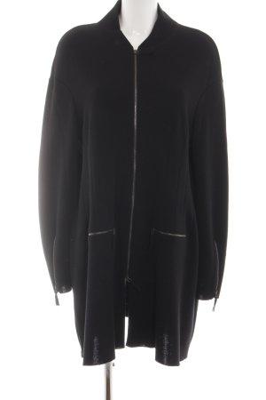 Annette Görtz Giacca di lana nero stile casual
