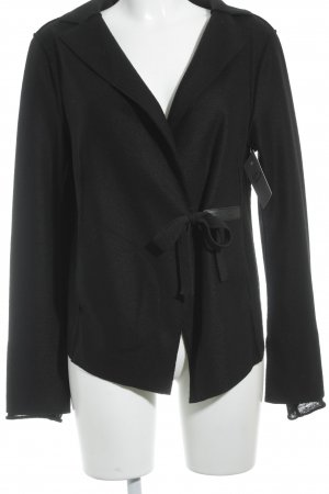 Annette Görtz Chaqueta de lana negro look casual