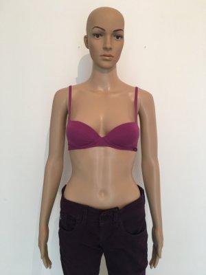 Anonym 65A 65 A xxs gepadded bra bh pink fuchsia Baumwolle Skiny Marke neu mit Etikett