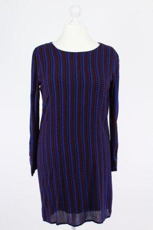 Anonyme Designers Langärmliges Kleid blau Größe XL