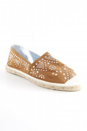 Another A Espadrille Sandals cognac-coloured hippie style