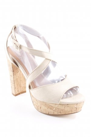 Another A High Heels beige Beach-Look
