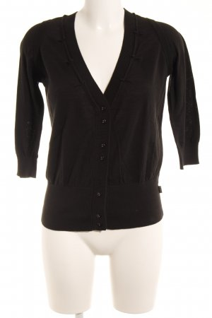 another woman Strickjacke schwarz Casual-Look
