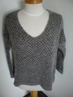 Anouk toller Pulli in grau /schwarz one size *****