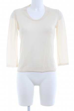 Anteprima Crewneck Sweater cream casual look