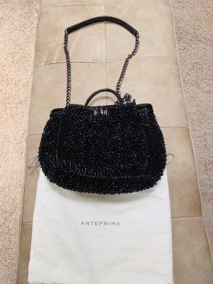 ANTEPRIMA schwarze Abendtasche