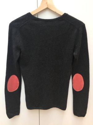 Anthrazit grauer Cashmere Pullover