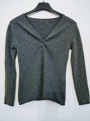Wool Sweater anthracite merino wool
