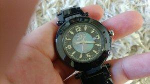 anthrazit-schwarze Damenuhr von INVICTA Modell Nr. 3935
