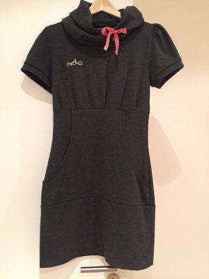 Anthrazites Sweatshirt Kleid vom Label Meko Gr. M