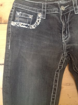 Skinny Jeans anthracite mixture fibre