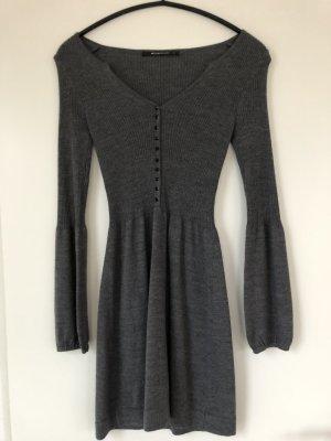 Expresso Wollen jurk antraciet