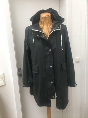 Zara Woman Zware regenjas antraciet