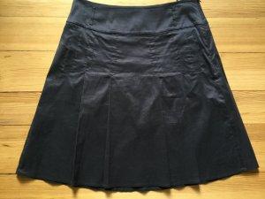 esprit collection Gonna a pieghe grigio scuro-antracite Cotone