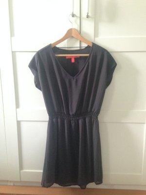 Anthrazitfarbenes Kleid/ Cocktailkleid