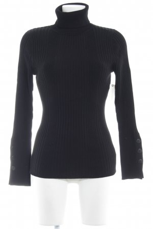 Anthropologie Rollkragenpullover schwarz Casual-Look