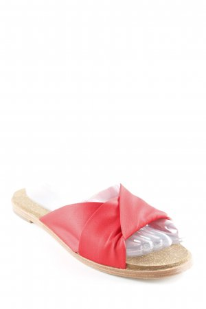 Anthropologie Beach Sandals red-light brown simple style
