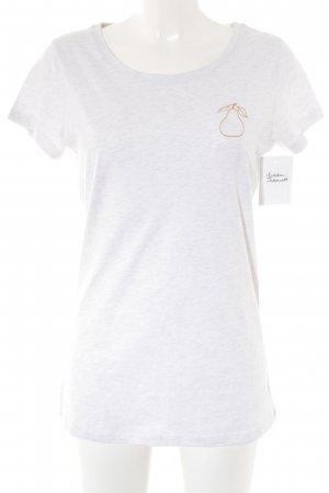 Anthropologie T-Shirt hellgrau meliert Street-Fashion-Look