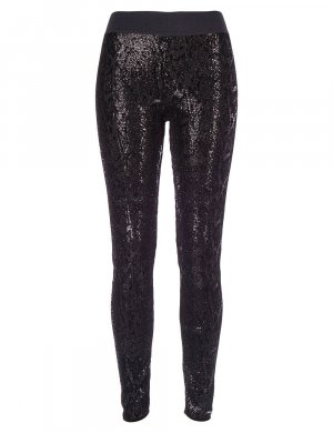 ANTI-FLIRT COLLECTION Leggings schwarz, Gr.38/M